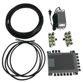Intellian SWM-16 Kit - 16 CH Single Wire Multi-Switch -SWM-