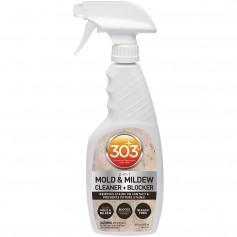 303 Mold Mildew Cleaner Blocker with Trigger Sprayer - 16oz -Case of 6-