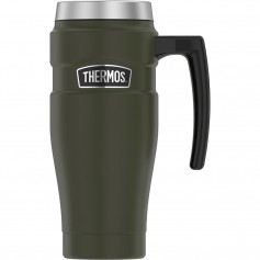 Thermos 16oz Stainless Steel Travel Mug - Matte Army Green - 7 Hours Hot-18 Hours Cold