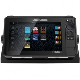 Lowrance HDS-9 LIVE w-Active Imaging 3-in-1 Transom Mount C-MAP Pro Chart