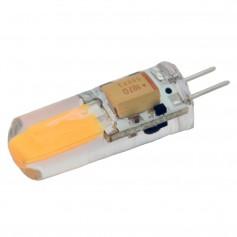 Lunasea Warm White G4 Bulb 2W 10-30VDC Bottom Pin Silicon Encapsulated