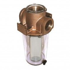 GROCO ARG-1250 Series 1-1-4- Raw Water Strainer w-Non-Metallic Plastic Basket