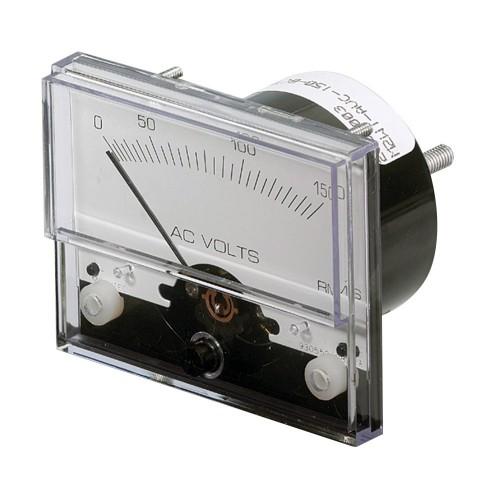 Paneltronics Analog AC Voltmeter - 0-150VAC - 2-1-2-