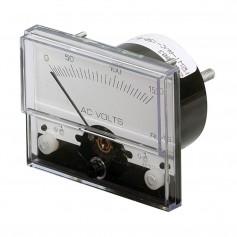 Paneltronics Analog AC Voltmeter - 0-300VAC - 2-1-2-