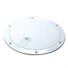 Sea-Dog Pop-Out Textured Deck Plate - White - 6-