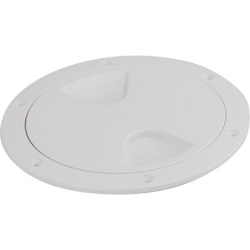 Sea-Dog Screw-Out Deck Plate - White - 4-