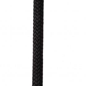 New England Ropes 1-2- X 25 Nylon Double Braid Dock Line - Black