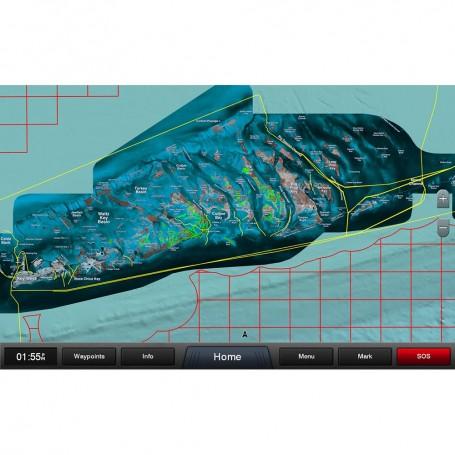 Garmin Standard Mapping - Florida Keys Premium microSD-SD Card