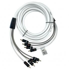 FUSION EL-FRCA25 25 Standard 4-Way RCA Cable