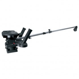 Scotty 1116 Propack 60- Telescoping Electric Downrigger w- Dual Rod Holders and Swivel Base