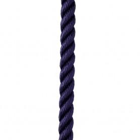 New England Ropes 1-2- X 35 Premium Nylon 3 Strand Dock Line - Navy Blue