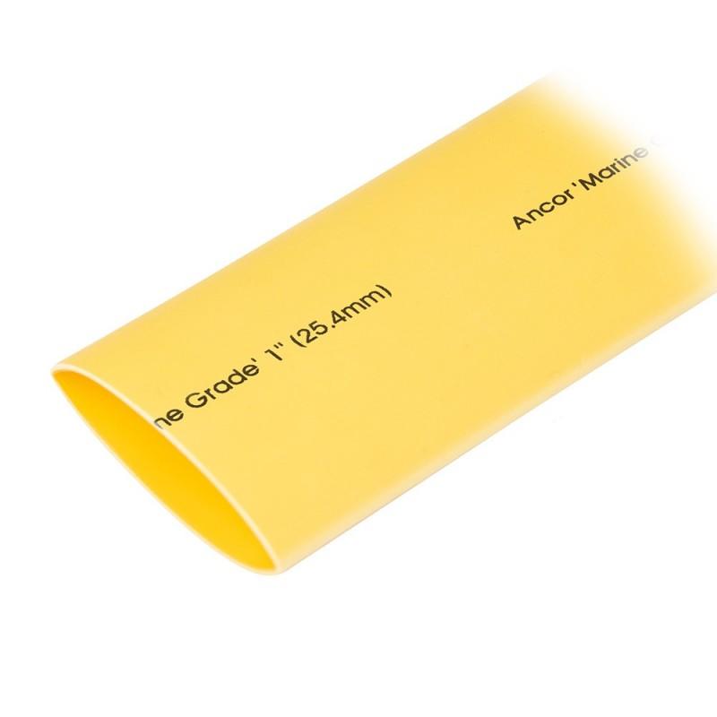Ancor Heat Shrink Tubing 1- x 48- - Yellow - 1 Pieces