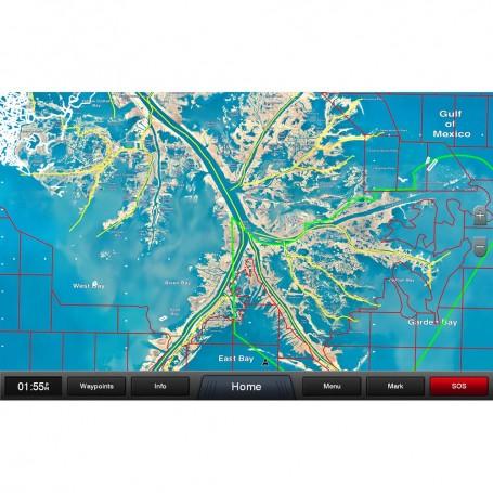 Garmin Standard Mapping - Louisiana One Professional microSD-SD card