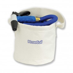 HoseCoil Canvas Bucket f-75 Expandable Hose Kit