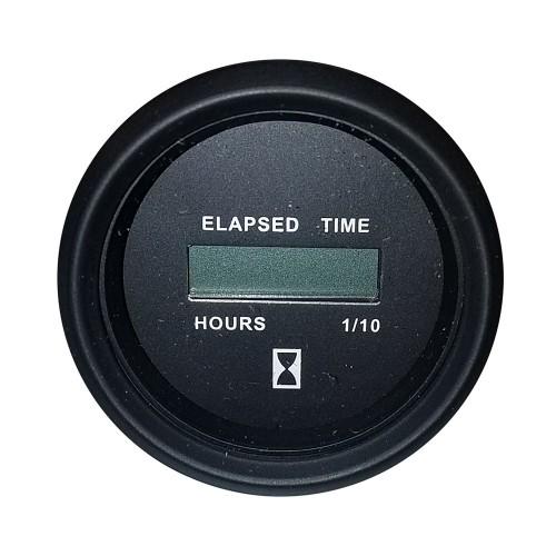 Faria Heavy-Duty 2- Hourmeter -Digital- -12-32VDC- Black - Packaged in Box