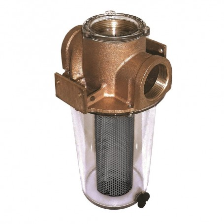 GROCO ARG-500 Series 1-2- Raw Water Strainer w-Monel Basket