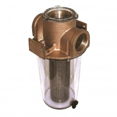 GROCO ARG-1250 Series 1-1-4- Raw Water Strainer w-Stainless Steel Basket