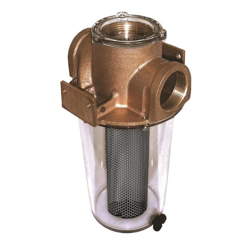 GROCO ARG-1250 Series 1-1-4- Raw Water Strainer w-Monel Basket