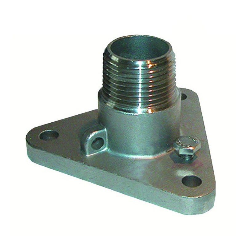 GROCO 3-4- -316 Stainless Steel NPS to NPT Flange Adapter