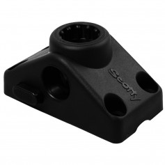 Scotty 241 Locking Combination Side or Deck Mount - Black
