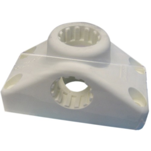 Scotty Combination Side - Deck Mount - White