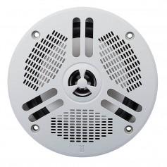 Poly-Planar 5- 2-Way LED Self Draining Spa Speaker - Light Gray