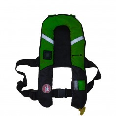 First Watch 38 Gram Pro Inflatable PFD - Manual - Green