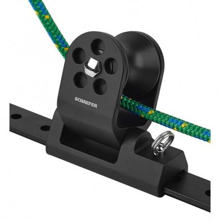 Schaefer Twin Sheet Block f-1-1-4- T-Track - Black