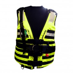 First Watch HBV-100 High Buoyancy Type V Rescue Vest - X-Large-XXX-Large - Hi-Vis Yellow