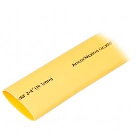 Ancor Heat Shrink Tubing 3-4- x 48- - Yellow - 1 Piece