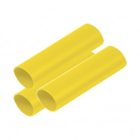 Ancor Battery Cable Adhesive Lined Heavy Wall Battery Cable Tubing -BCT- - 3-4- x 12- - Yellow - 3 Pieces