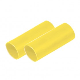 Ancor Battery Cable Adhesive Lined Heavy Wall Battery Cable Tubing -BCT- - 1- x 12- - Yellow - 2 Pieces