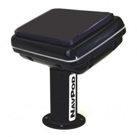 NavPod PedestalPod 70 Pre-Cut f-Raymarine eS127- eS128 AXIOM PRO 12 - Carbon Series