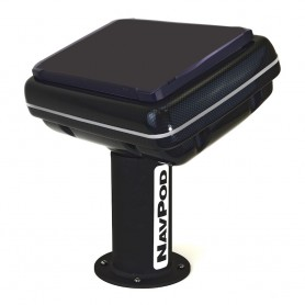 NavPod PedestalPod 70 Pre-Cut f-Garmin GPSMAP 7412xsv 7612xsv Series - Carbon Series