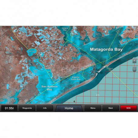 Garmin Standard Mapping - Texas One Professional microSD-SD Card