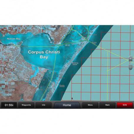 Garmin Standard Mapping - Texas West Premium microSD-SD Card