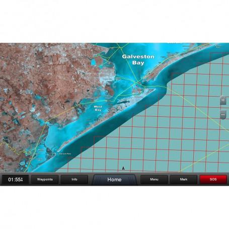 Garmin Standard Mapping - Texas East Premium microSD-SD Card