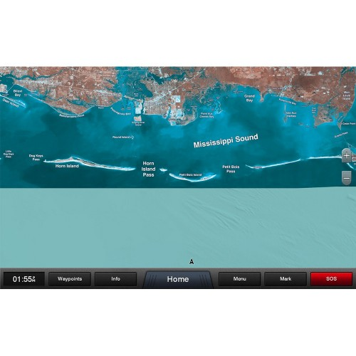 Garmin Standard Mapping - Mississippi Sound Classic microSD-SD Card