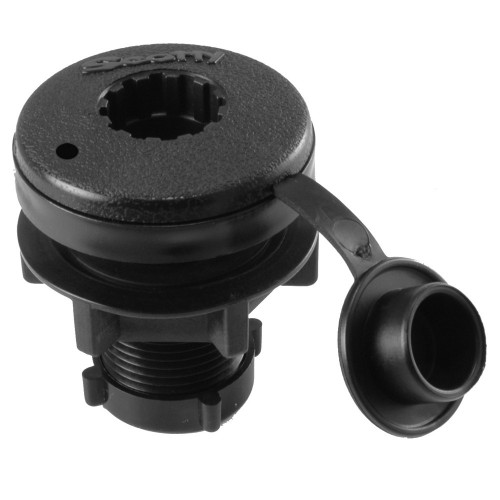 Scotty Compact Threaded Round Deck Mount