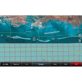 Garmin Standard Mapping - Mississippi Sound Professional microSD-SD Card
