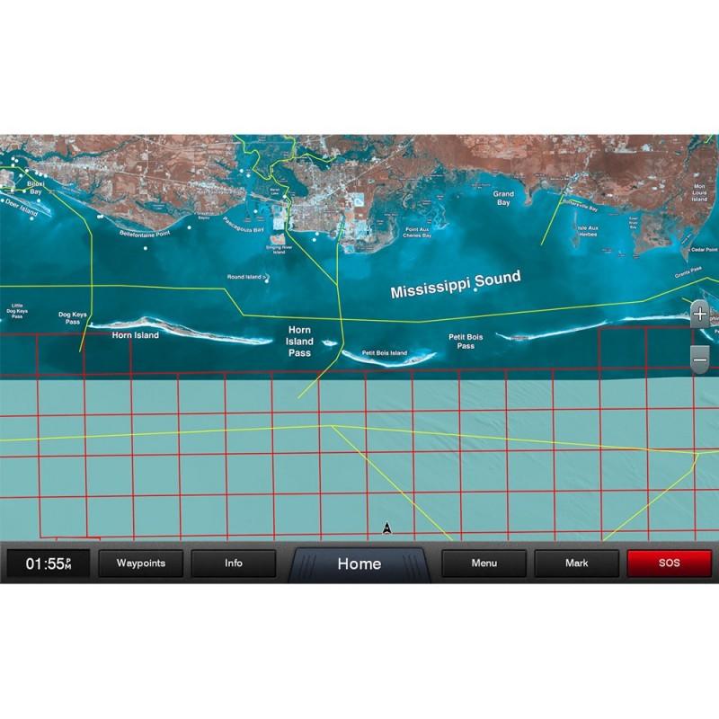 Garmin Standard Mapping - Mississippi Sound Professional microSD-SD Card