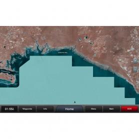 Garmin Standard Mapping - Gulf Coast Classic microSD-SD Card