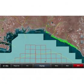 Garmin Standard Mapping - Gulf Coast Premium microSD-SD Card