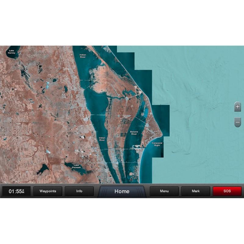 Garmin Standard Mapping - Florida East Pen Classic microSD-SD Card