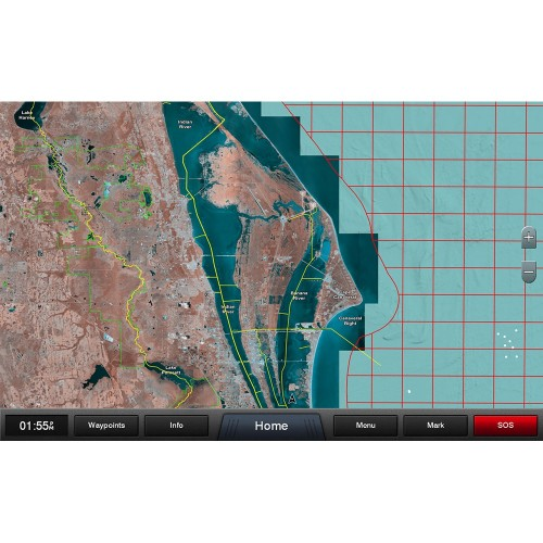 Garmin Standard Mapping - Florida East Pen Professional microSD-SD Card