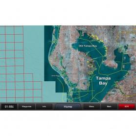 Garmin Standard Mapping - Florida West Pen Premium microSD-SD Card