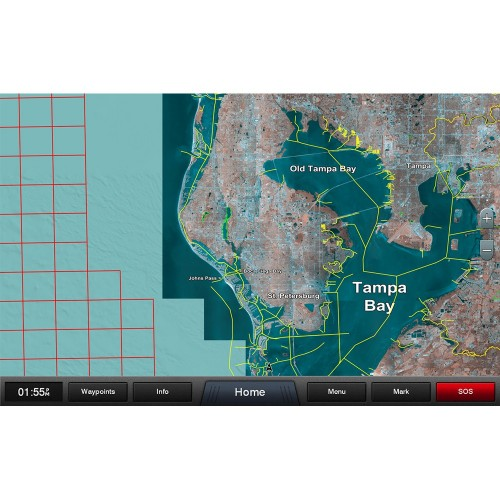 Garmin Standard Mapping - Florida West Pen Premium microSD-SD Card