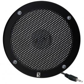 Poly-Planar 5- VHF Extension Speaker - Flush Mount - -Single- Black