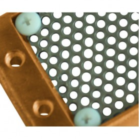 GROCO 93-2000-02 Stainless Steel Replacement Screen f-APHS-2000 - Size 2 --125-- Perforation Diameter