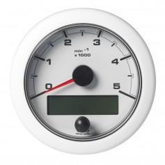 VDO Marine 3-3-8- -85mm- OceanLink Tachometer 5000 RPM - White Dial Bezel